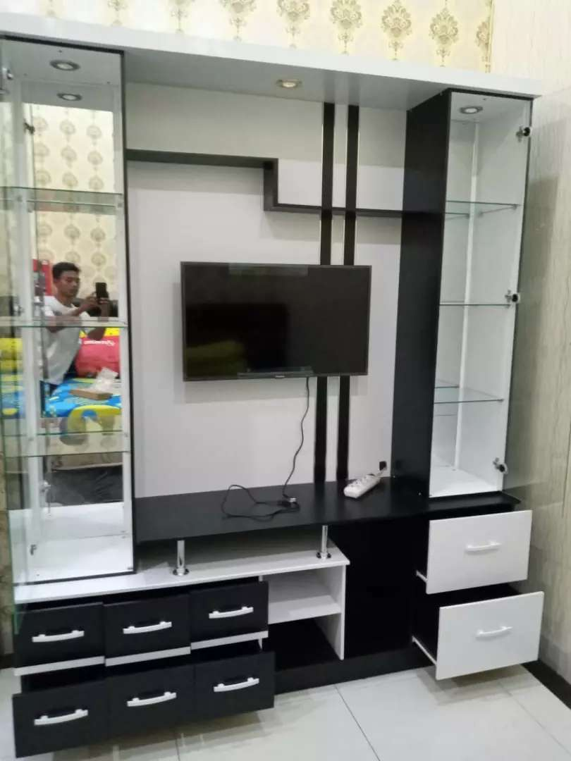 Furniture modern meja tv 0