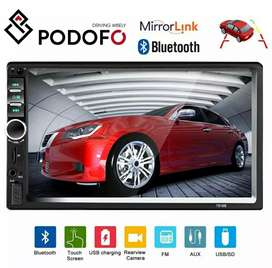 Mp5 Double Din Suport Hp Android Mirorlink