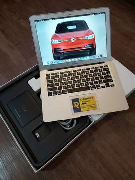 "Macbook Air 13"" Seri 2014 Fullset Super Mulus"