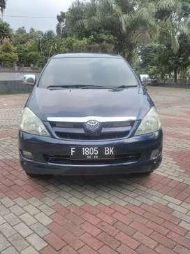 Toyota innova G m/t bensin th2005. Tgn pertama. Bisa kredit