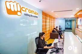 Front office Executive cum CCE job in Micromax