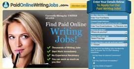 Double benefits of part time job weekly payment Easy & simple typing.