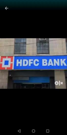 Hiring for hdfc bank payroll male and female candidate