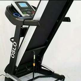 Treadmil elektrik auto incline body kokoh