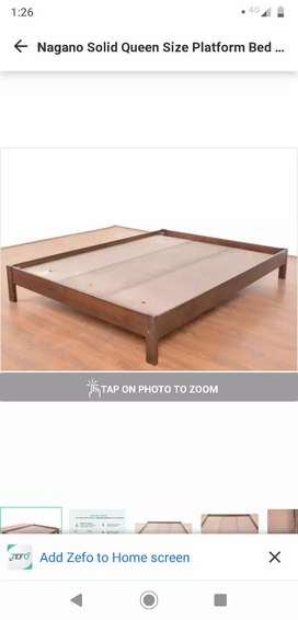2 years old queen size bed