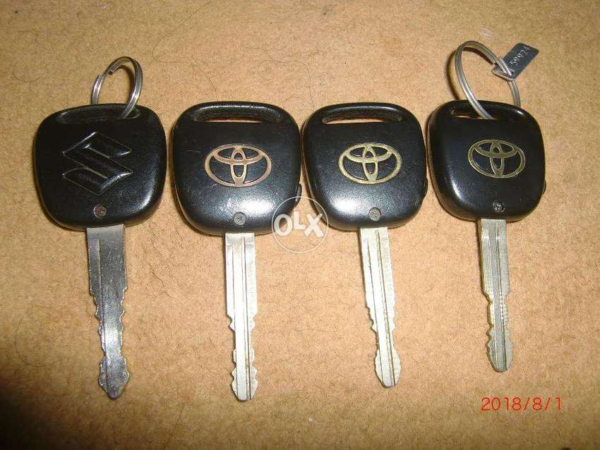 Toyota Remote key only 0