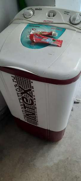 Intex 6.5kg washing machine top load
