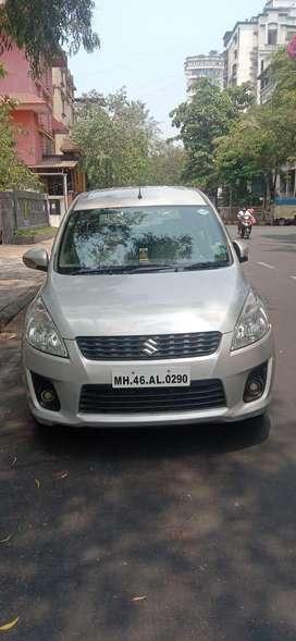Maruti Suzuki Ertiga VXI CNG, 2014, Diesel