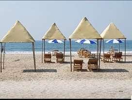Sheik at arambol beach