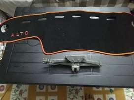 Alto vxr dashboard carpet and japani jack 100%orignal