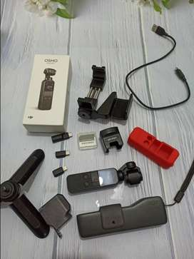 Jual DJI OSMO POCKET + ACC + ADAPTER MIC