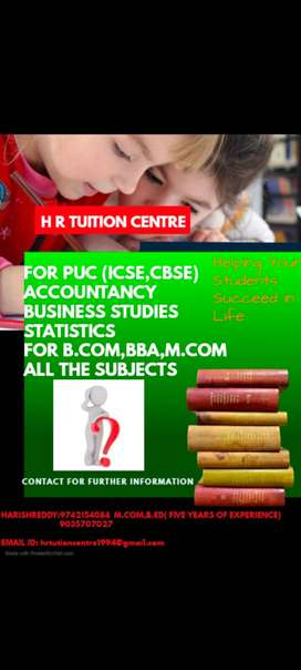 HR Tuitions