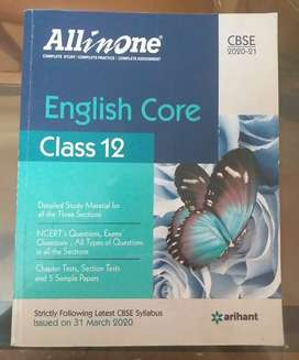 CLASS 12 CBSE ENGLISH CORE 'ALL IN ONE ' GUIDE BY ARIHANT PUBLICATIONS