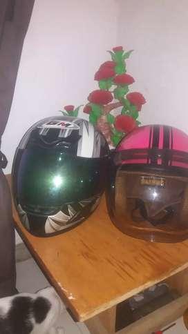 Jual 2 helm FULL FACE GM/BOGO RIZ SNI.