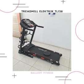 Treadmill elektrik 138 red