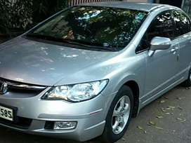 Honda Civic/Auto Petrol/Leather Upholstery/45000kms/SingleUser