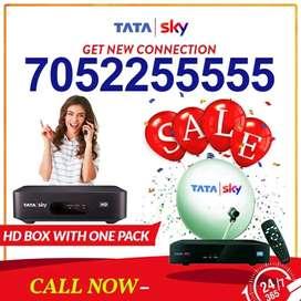 TATA SKY Hd Box New Connection   Airtel Dth   Dish Tv   Tatasky  