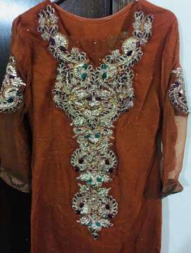 Beautiful wedding and party wear pure cloth designr wear lowest price