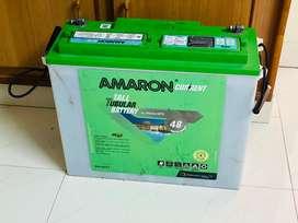 Amaron cr 150TT battery for home and SF SONIC PRIMA 900 inverter