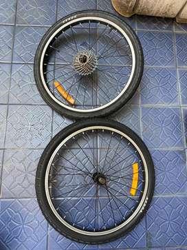 Wheelset Sepeda ukuran 20