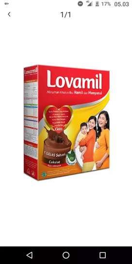 Lovamil nutrisi untuk ibu menyusui dan hamil