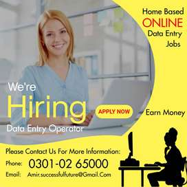 Online Data Entry Jobs- Daily /Weekly salary Payout