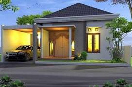 Rumah Murah Mewah Pinggir di Jakal km 12, DP 10% Bertahap