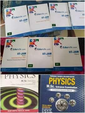 STUDY KIT IIT JAM PHYSICS+2 M.Sc Physics entrance books