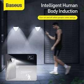 READY Baseus Lampu Solar Tenaga Surya Outdoor - Wall Lamp Sensor