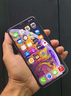 iphone xs max 256 fulset mulus