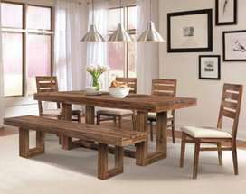 15 days special sale offer on this dining table set for 6 person