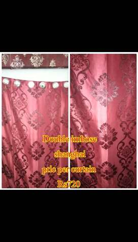 All types of curtains available