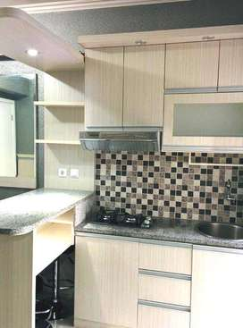 Apartemen green pramuka 2 BR Full Furnished Ada Water Heater View City