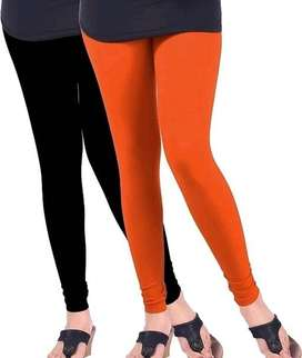 Women's Trendy Solid Leggings (2 Pieces)