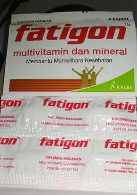fatigon multivitamin dan mineral