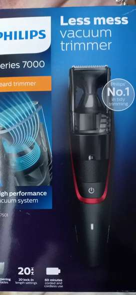 Philips vacuum trimmer series 7000