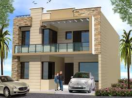 4bhk duplex house in Puda approved society