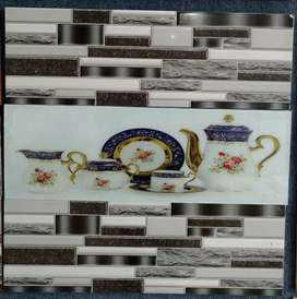 Tiles for kitchen and decoration motives