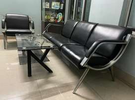 4 Seater Sofa Set with Centre Table