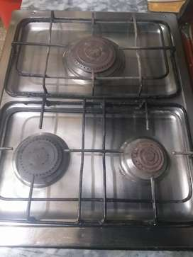Nasgas cooking range with Oven