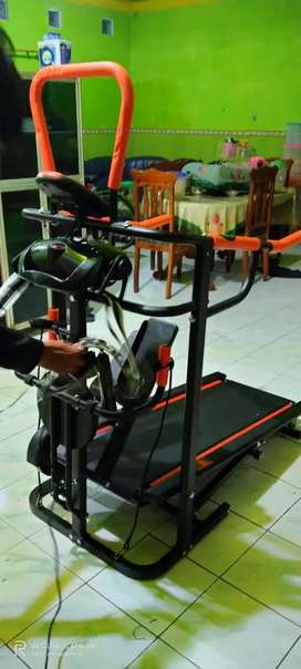 Treadmill Manual 5 fungsi  a