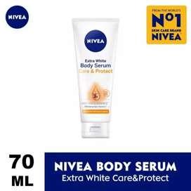 Nivea Extra White Body Serum Protect & Care sabun muka