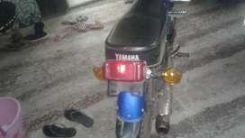 Yahmaha rx 100