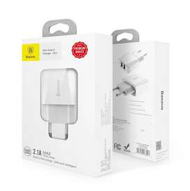 Charger Baseus  Mini Dual USB Charger 2.1A