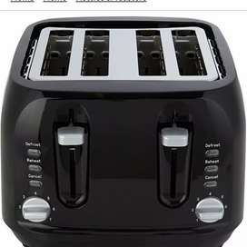 UK imported George home 4slice toaster black color delivery available