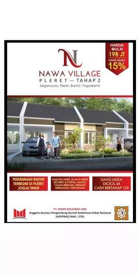 Nawa Village Pleret Termurah Sisa 20 Unit