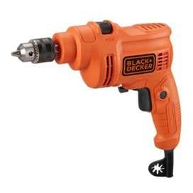 Black + Decker TP555 10 mm Impact Drill / Bor Tembok Beton 550W