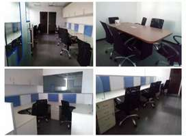 4 cabin 1 conference 50 seats furnished IT set up in sec 63 noida