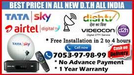 Airtel DTH Special OFFER Airtel HD Dish TV Dishtv VideoconD2h Tatasky