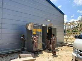 WC Outdoor Toilet Portable Untuk Kontruksi Tipe Low Price